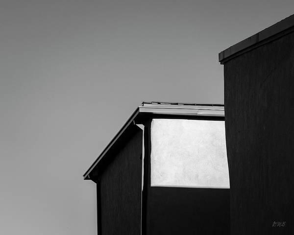 Photograph - Urban Abstract II Bw by David Gordon