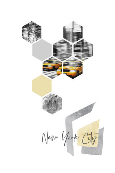 Wall Art - Photograph - Urban Art Design New York City by Melanie Viola