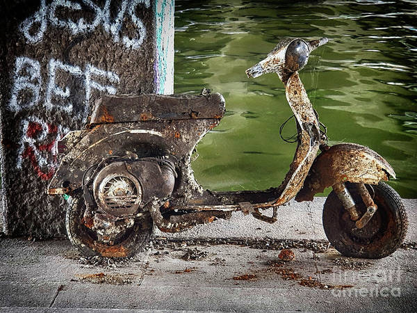 Wall Art - Photograph - Urban Burn Out by Yvonne Johnstone