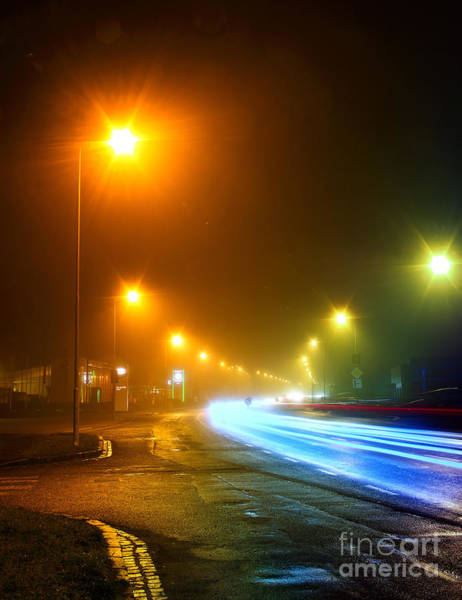 Wall Art - Photograph - Urban City Road Long Exposure.night by Vania Zhukevych