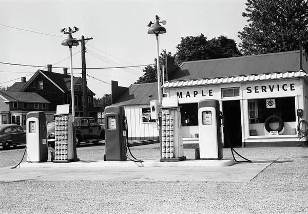 Pump Photograph - Urban Gas Station by George Marks