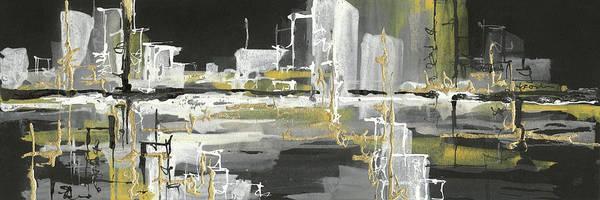 Wall Art - Painting - Urban Gold IIi by Chris Paschke