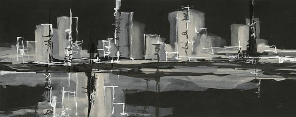 Wall Art - Painting - Urban Gray Crop by Chris Paschke