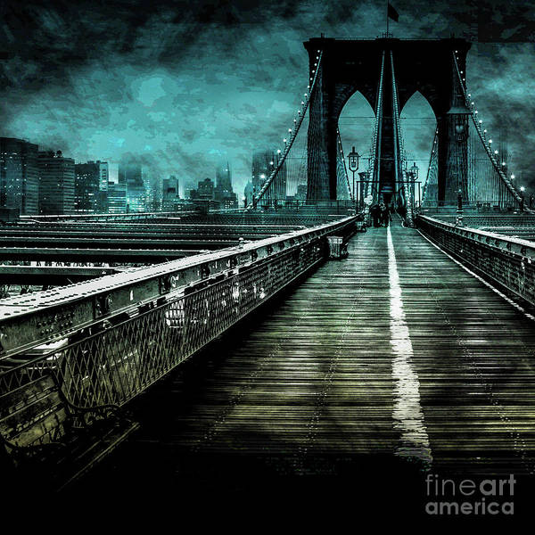 Architectural Digital Art - Urban Grunge Collection Set - 01 by Az Jackson