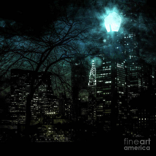 Architectural Digital Art -  Urban Grunge Collection Set - 03 by Az Jackson