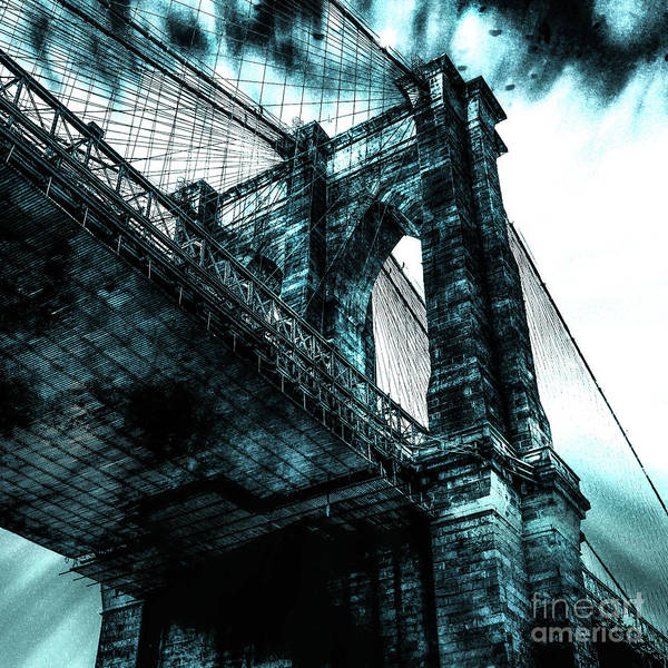 Architectural Digital Art - Urban Grunge Collection Set - 08 by Az Jackson