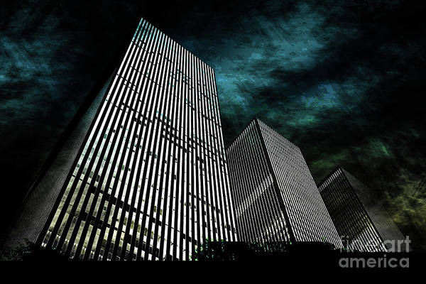 Contemporary Digital Art -  Urban Grunge Collection Set - 13 by Az Jackson