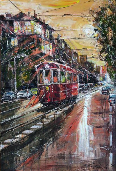 Painting - Urban Morning Iv by Stefano Popovski