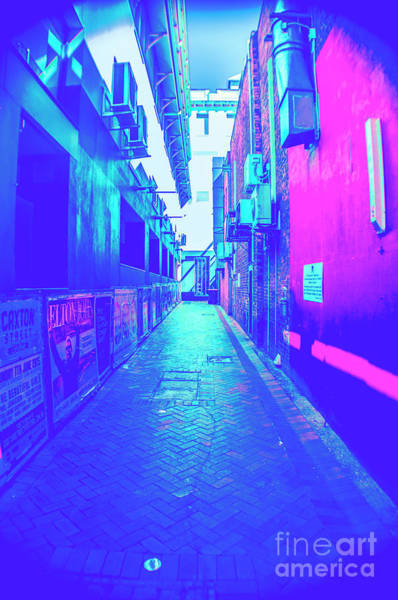 Alley Wall Art - Photograph - Urban Neon by Jorgo Photography - Wall Art Gallery
