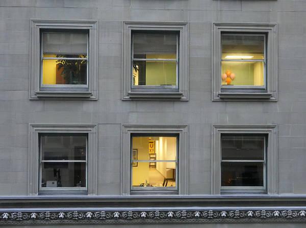 Photograph - Urban Windows by Richard Reeve
