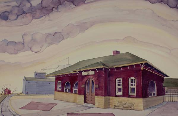 Painting - Urbana Depot by Scott Kirby