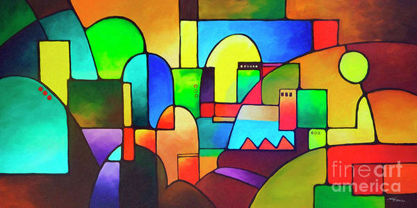 Painting - Urbanity 2 by Sally Trace