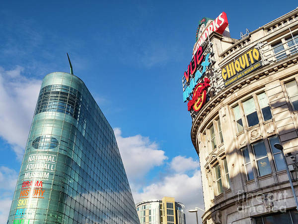 Wall Art - Photograph - Urbis Building And The Printworks, Manchester, Uk by Colin and Linda McKie