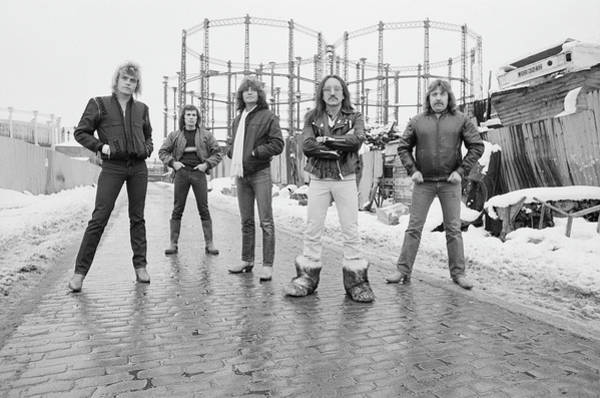 Station To Station Photograph - Uriah Heep On Gas by Fin Costello