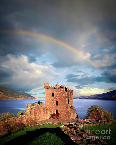 Photograph - Urquhart Castle by Edmund Nagele
