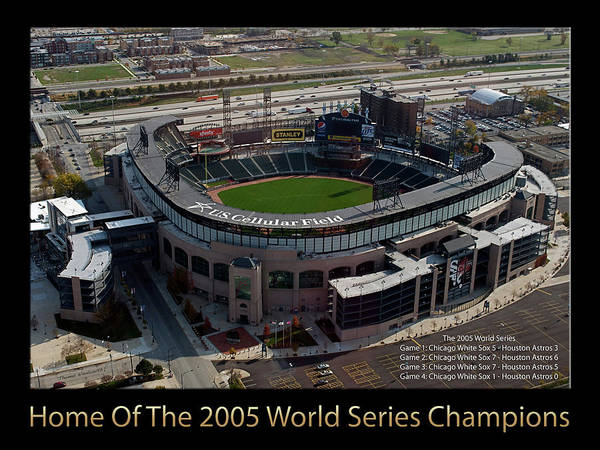 Wall Art - Photograph - Us Cellular Field Chicago White Sox 2005 World Series Champons 01 by Thomas Woolworth