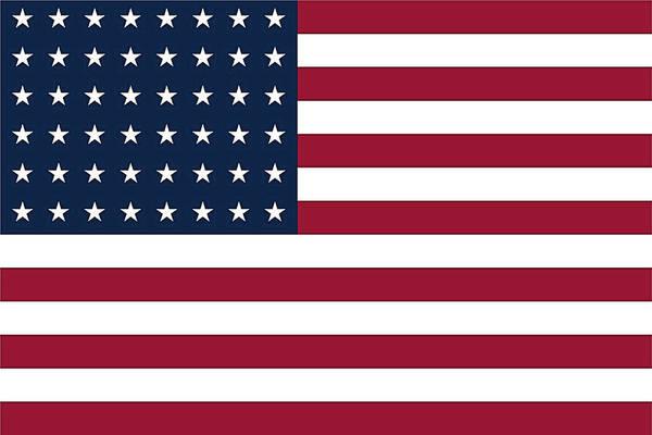 Digital Art - Us Flag by Robert Banach