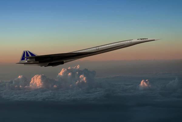 Supersonic Speed Wall Art - Photograph - U.s. Supersonic Transport Sst Concept by Erik Simonsen