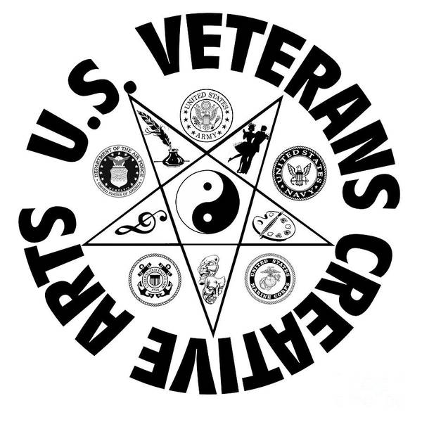 Digital Art - U.s. Veterans Creative Arts by Bill Richards