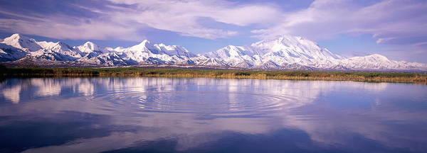 Alaska Photograph - Usa, Alaska, Denali National Park, Mt by Eastcott Momatiuk