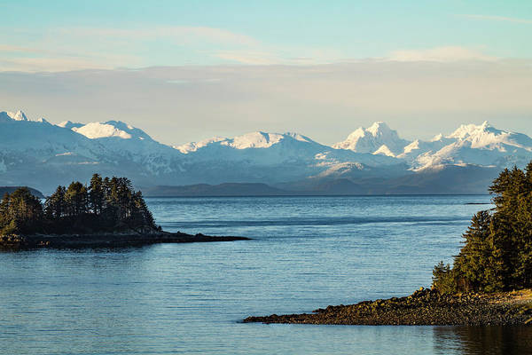 Wall Art - Photograph - Usa, Alaska View Across Lynn Canal by Margaret Gaines