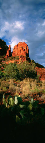 Wall Art - Photograph - Usa, Arizona, Sedona, Capitol Butte by Panoramic Images