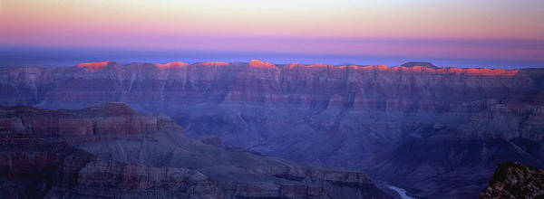 North Rim Photograph - Usa, Arizona, Sunset Over The North Rim by Michael Busselle