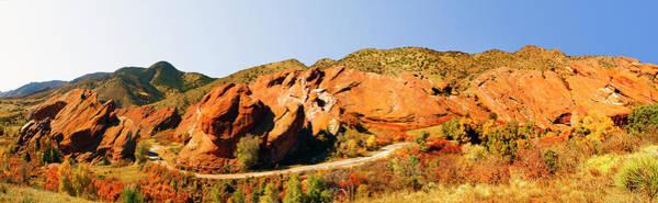 Wall Art - Photograph - Usa, Colorado, Littleton, Rock by Bill Heinsohn
