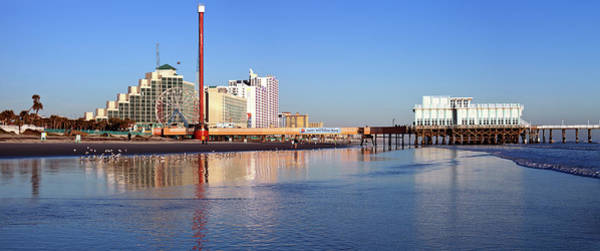 Pier Photograph - Usa, Florida, Daytona Beach, Pier And by Henryk Sadura
