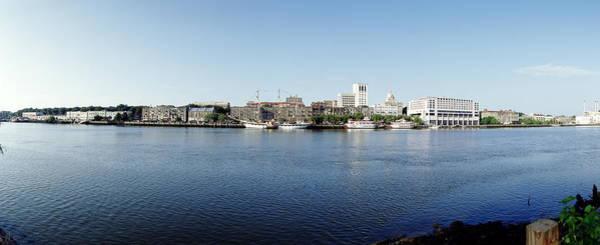 Savannah Photograph - Usa, Georgia, Savannah, Savannah River by Jerry Driendl
