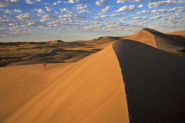 Caucasian Photograph - Usa, Idaho, Bruneau Sand Dunes State by Steve Bly