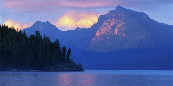 Wall Art - Photograph - Usa, Montana, Glacier Np, Mountains by Paul Souders