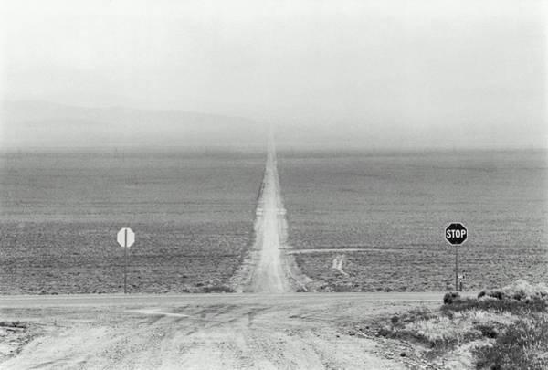 Wall Art - Photograph - Usa, Nevada, Austin, Desert Crossroads by Alan Berner