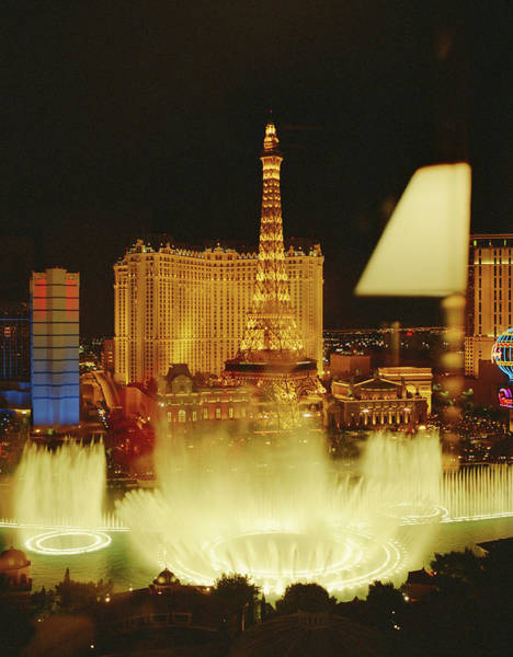 Las Vegas Photograph - Usa, Nevada, View Of Las Vegas From by Will Sanders
