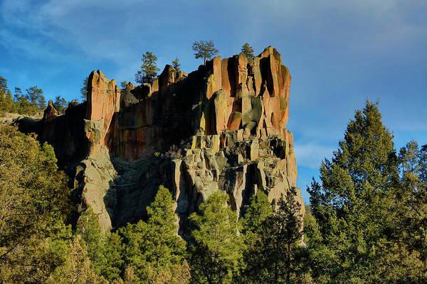 Wall Art - Photograph - Usa, New Mexico Battleship Rock by Jaynes Gallery