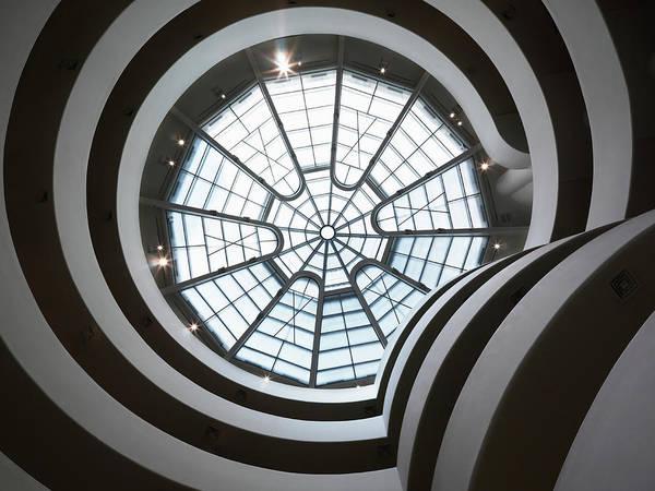 Solomon R. Guggenheim Museum Photograph - Usa, New York City, Great Rotunda Of by Mecky