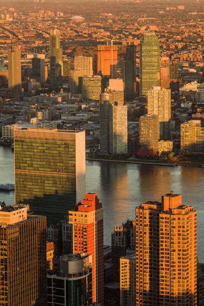 Long Island City Photograph - Usa, New York City, Midtown Manhattan by Walter Bibikow