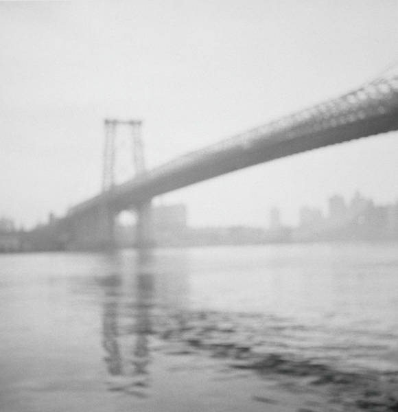 Williamsburg Photograph - Usa, New York City, Williamsburg Bridge by Bill Jacobson