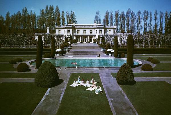 Wealth Photograph - Usa Trianon by Slim Aarons