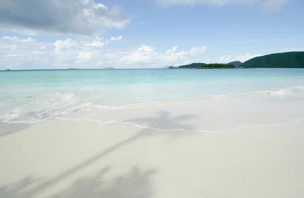 Hackett Photograph - Usa, Virgin Islands, St. John, Shadow by Chris  Hackett