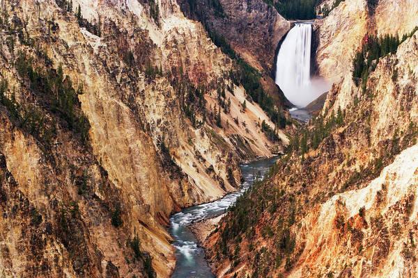 Morning Glory Photograph - Usa, Wyoming, Yellowstone Np, Grand by Frank Krahmer