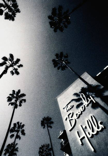 Beverly Hills Hotel Photograph - Usa,california,los Angeles,beverly by Louis Grandadam