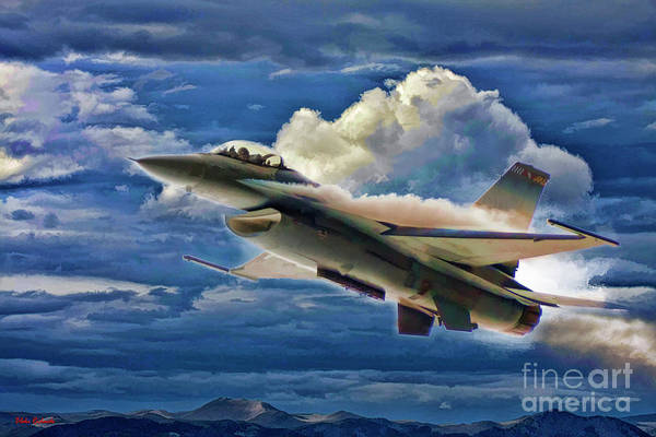 Photograph - Usaf F-16 Viper by Blake Richards