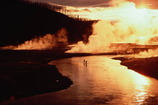 Firehole River Wall Art - Photograph - Usa,wyoming,yellowstone National by Tom Montgomery