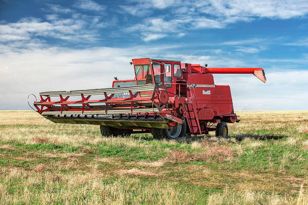 Photograph - Used Massey by Todd Klassy