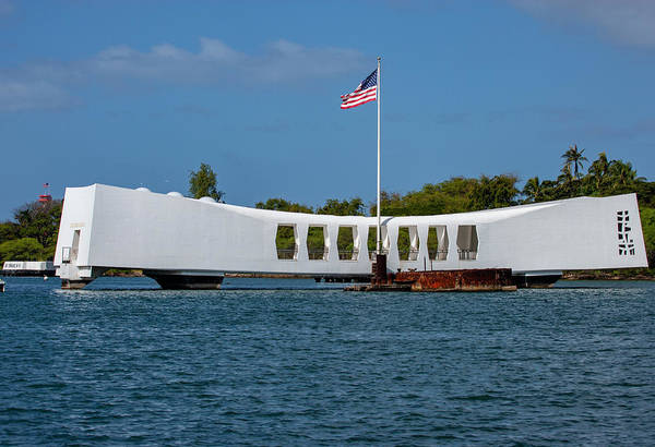 Photograph - Uss Arizona  by Anthony Jones