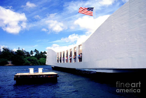 Uss Arizona Wall Art - Photograph - Uss Arizona Memorial by Thomas R Fletcher