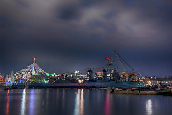 Photograph - Uss Cassin Young - Boston Navy Yard by Joann Vitali