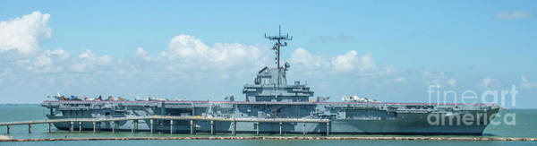 Photograph - Uss Lexington by Tony Baca
