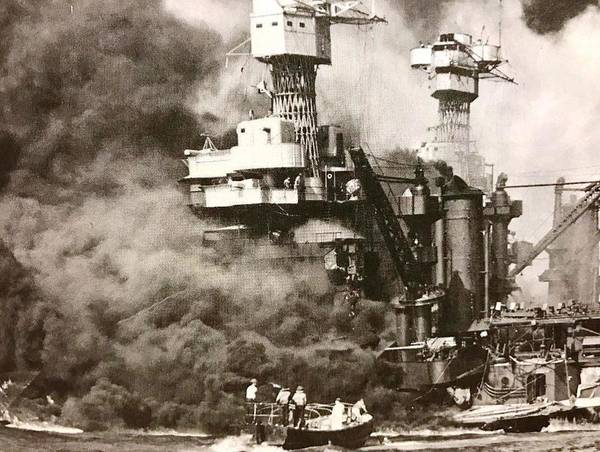 Wall Art - Photograph - Uss West Virginia by Lord Frederick Lyle Morris - Disabled Veteran